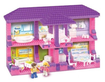 BLOCKY HOUSE 4 AMBIENTES