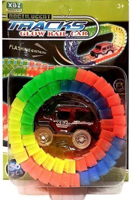 PISTA LUMINOSA 56 TRACKS FLEXIBLE 1 AUTO SMILE