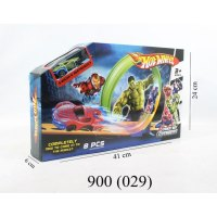 PISTA HOT WHEELS TRACK SET AVENGERS marca