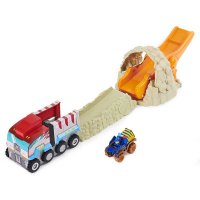 PAW PATROL CHASE T-REX RESCATE CON VEHICULO marca