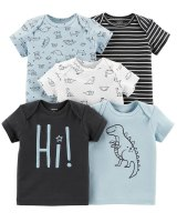 PACK 5 REMERAS CARTERS marca CARTERS