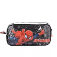 CARTUCHERA SPIDERMAN DOBLE MOS 62314 marca