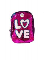 Mochila Fashion Love C/ Lentej. Reversibles 14''- Footy 2016 marca